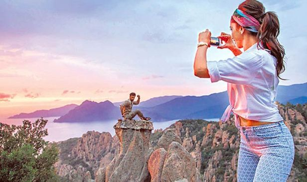 A beautiful moment from Tamasha!